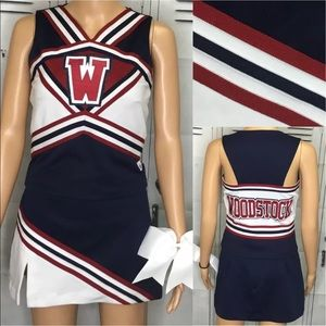 Cheerleading uniform Woodstock adult s